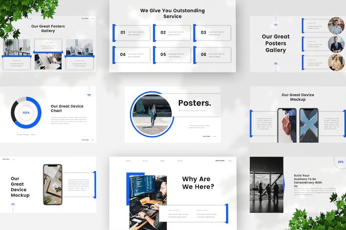 Startup Pitch Deck Google Slides Template