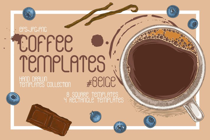 Thumbnail for Coffee Templates Collection