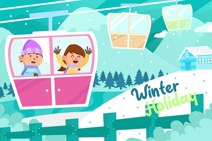 Thumbnail for Winer Holiday - Vector Illustration