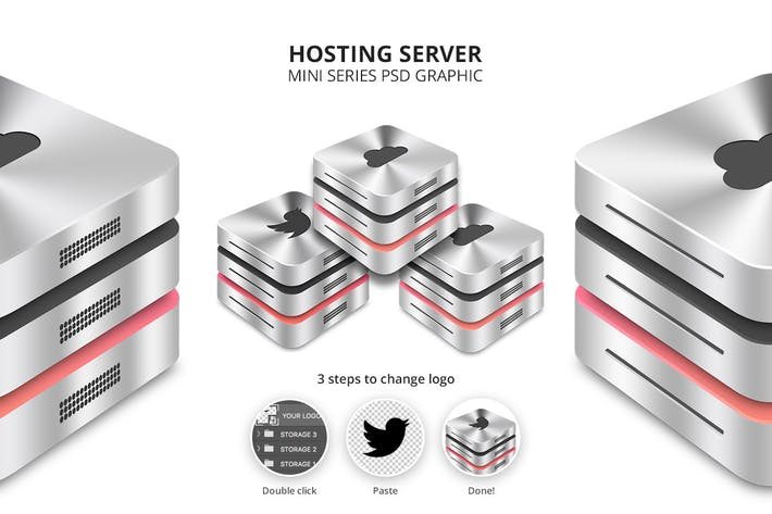 Thumbnail for Hosting Server Mini Series Three Racks