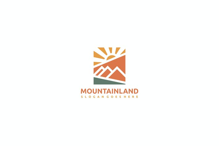 Thumbnail for Mountain Landscape Logo