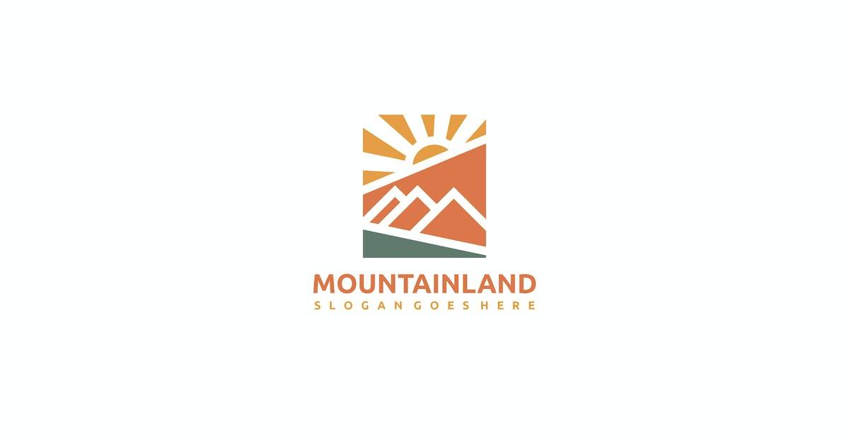 Download Mountain Landscape Logo by 3ab2ou