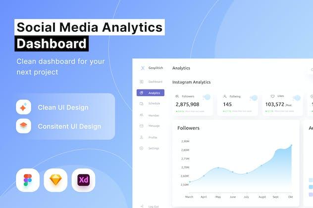 Social Media Analytics Dashboard