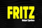 Fritz - Unique & Rounded Display / Logo Typeface