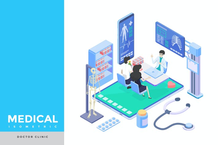 Thumbnail for Doctor Clinic Isometric