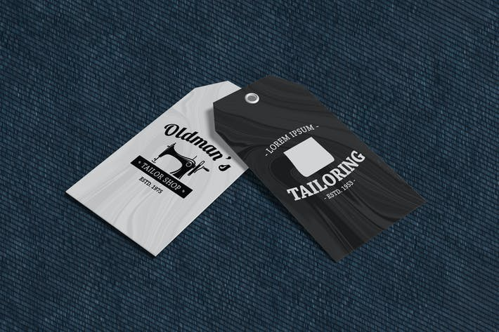 Thumbnail for Clothing Tag Product Mockup V2