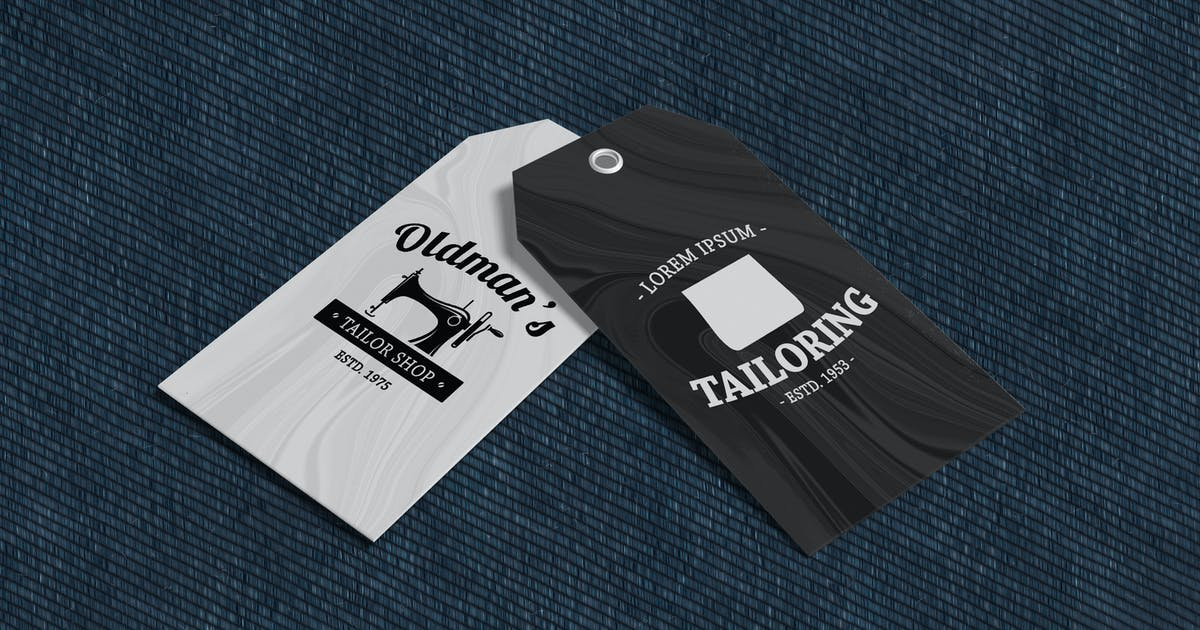 Download Clothing Tag Product Mockup V2 by IanMikraz