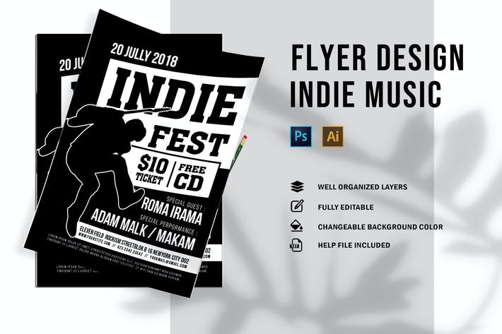 Thumbnail for Indie | Flyer