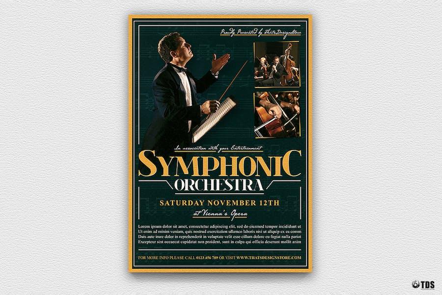 Symphonic Orchestra Flyer Template V2