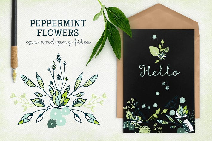 Thumbnail for Peppermint Flowers
