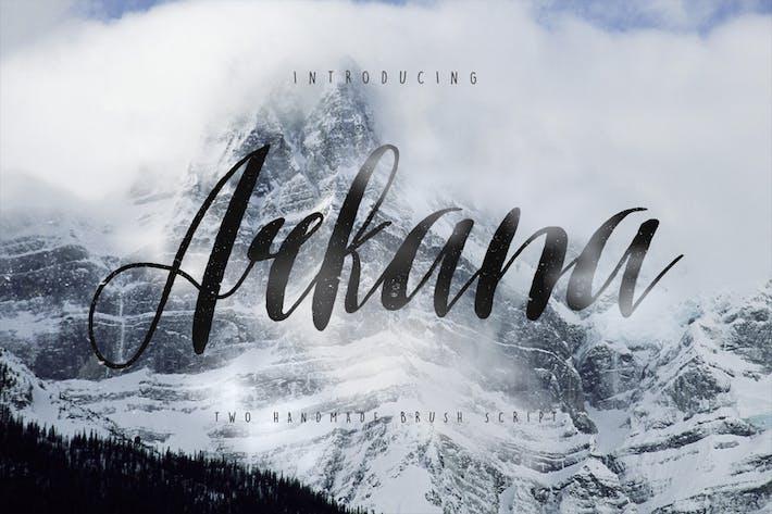 Thumbnail for Arkana Script Typeface