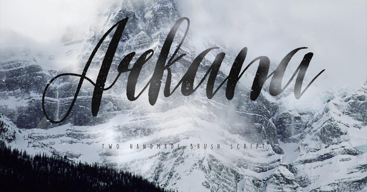 Download Arkana Script Typeface by maulanacreative