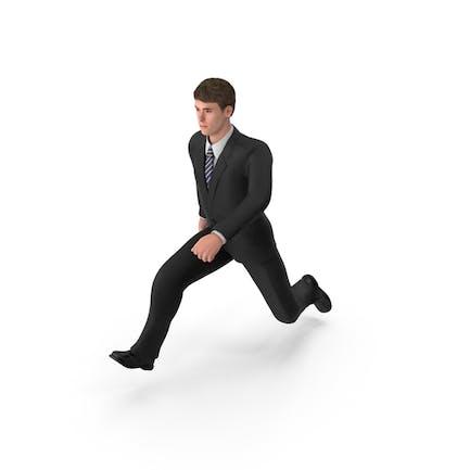 Hombre de negocios John Jumping