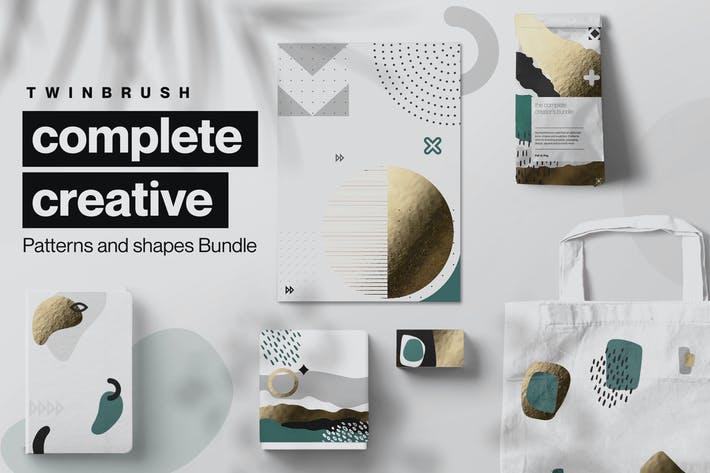 Thumbnail for Creative Shape and Patterns Bundle