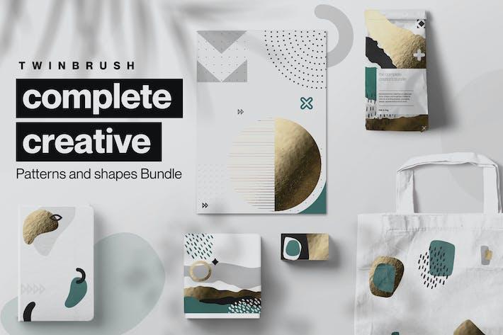 Creative Shape and Patterns Bundle