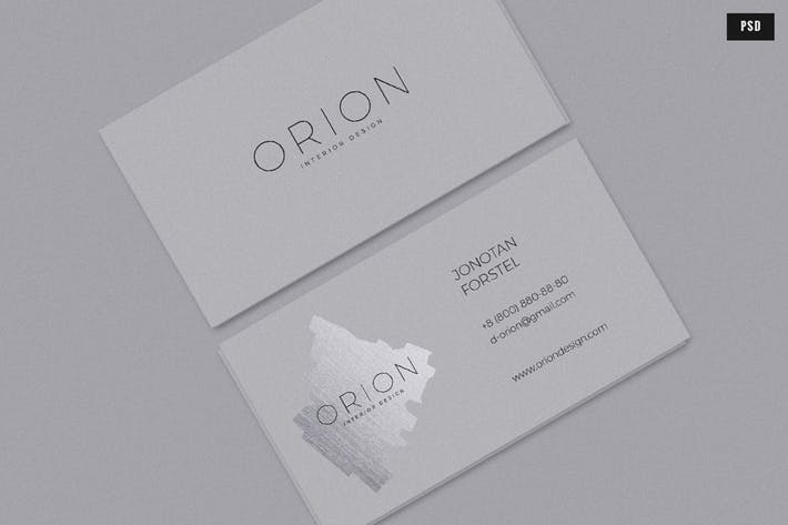 Thumbnail for Orion Business Card Template