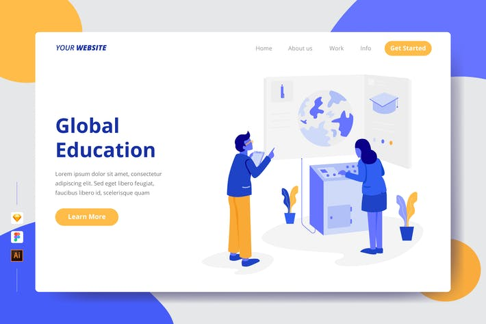 Thumbnail for Global Education - Zielseite