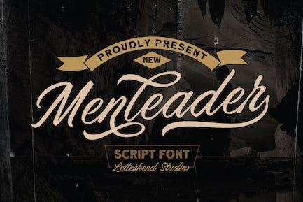 Menleader - Fuente de script