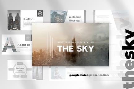 The Sky - Google Slides Presentation