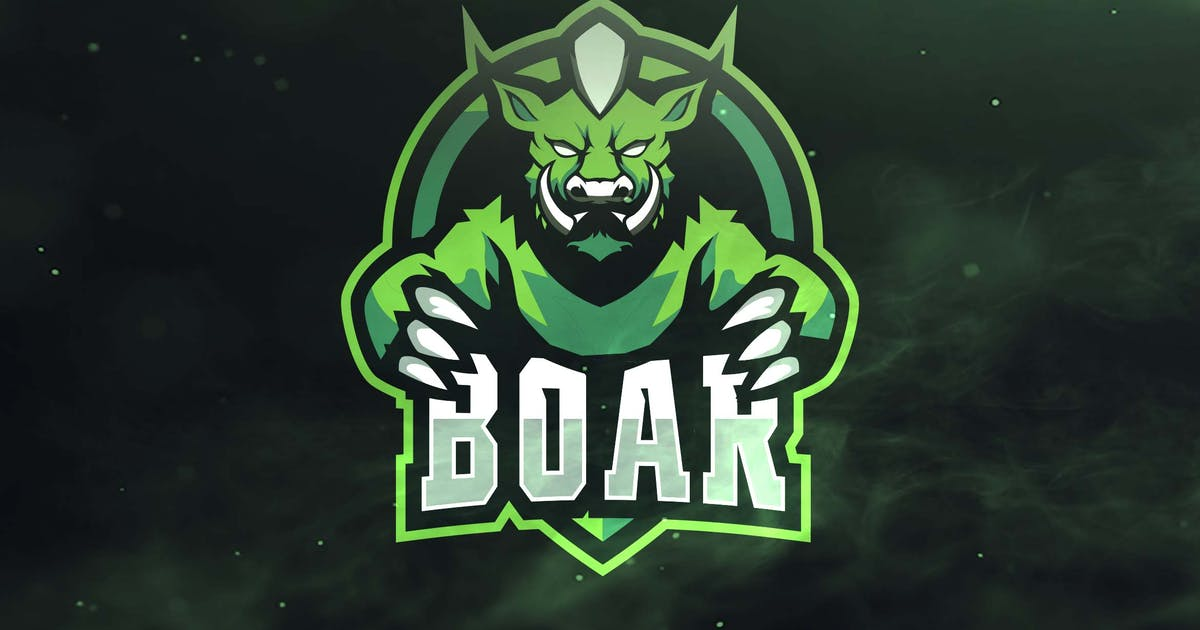 Download Boar Sport and Esports Logos by ovozdigital
