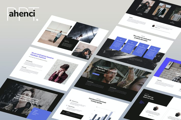 Thumbnail for AHENCI - Powerpoint Template