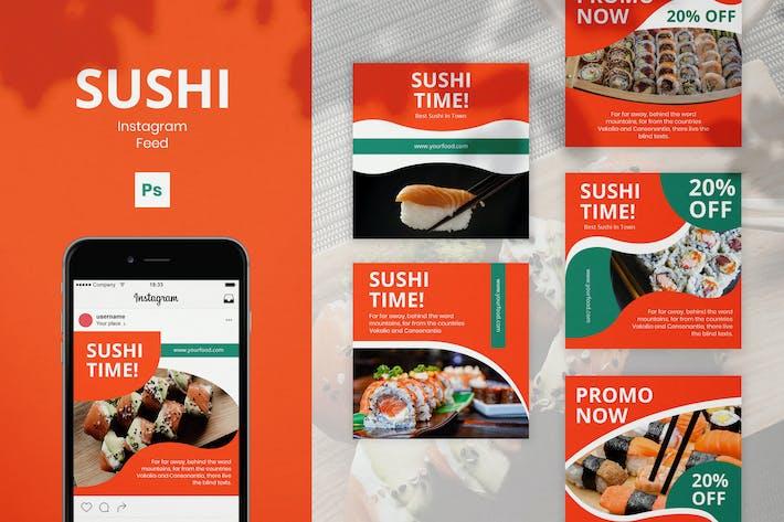 Thumbnail for Sushi Instagram Beiträge