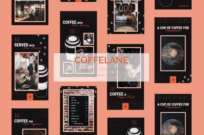 Thumbnail for Coffelane - Instagram Story Pack