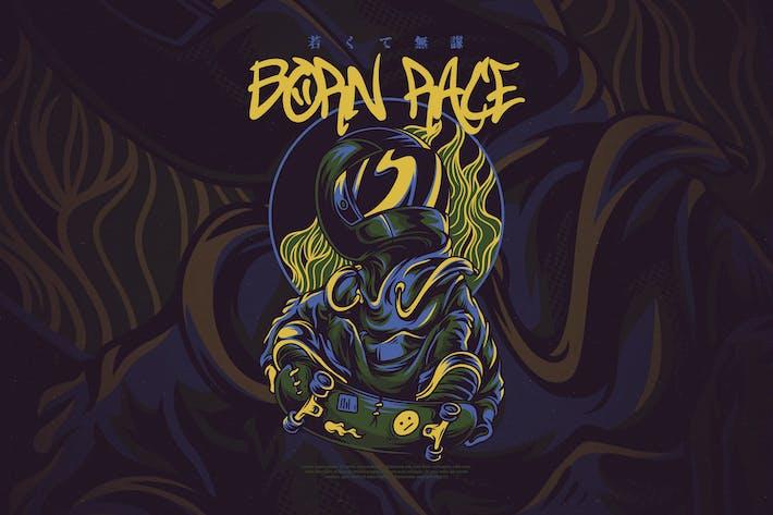 Thumbnail for Born Race