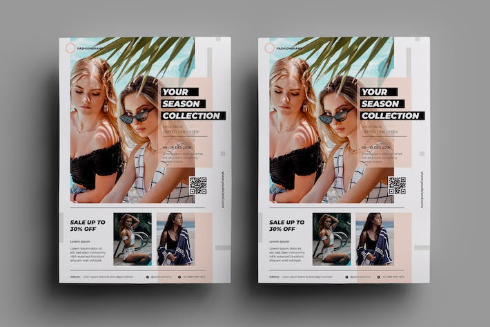 Cover Image For Fashion Flyer Design.22