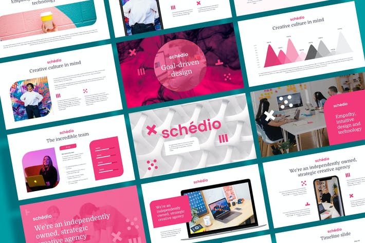 Thumbnail for SCHEDIO - Multipurpose Business Powerpoint Templat