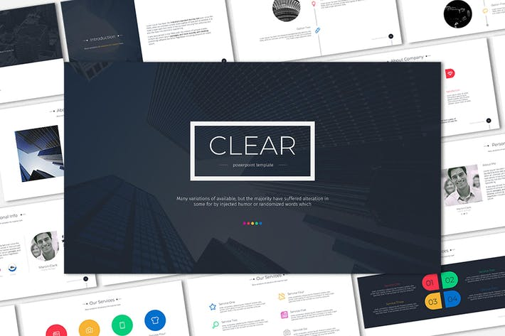 Thumbnail for Clear-Google Slides Template