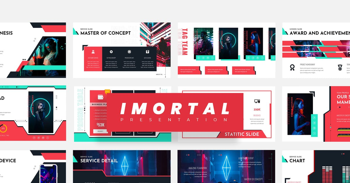 Download Imortal - Business Keynote Presentation by vectorclans