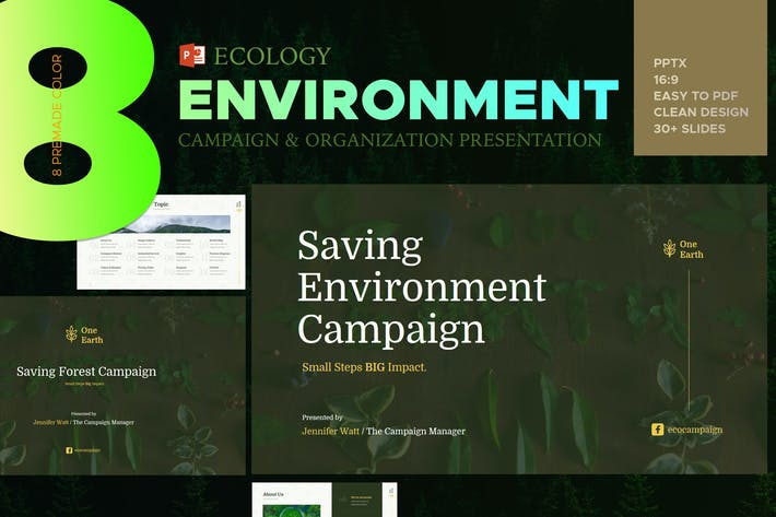 Thumbnail for Eco Environment Presentation - PPT