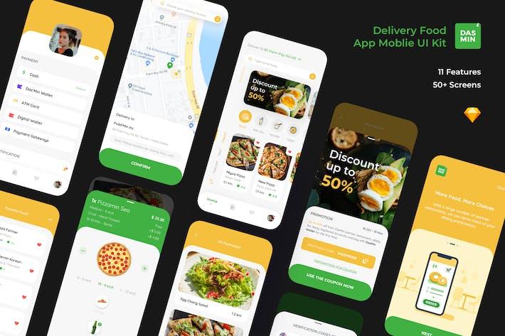 Dasmin Delivery Food App Mobile Ui kit
