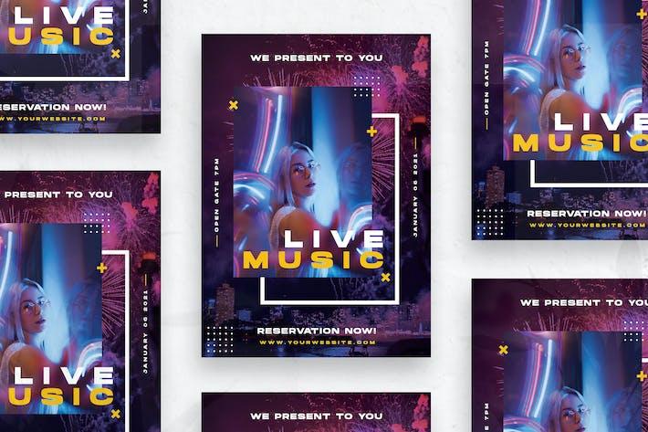Thumbnail for Live Music - Flyer