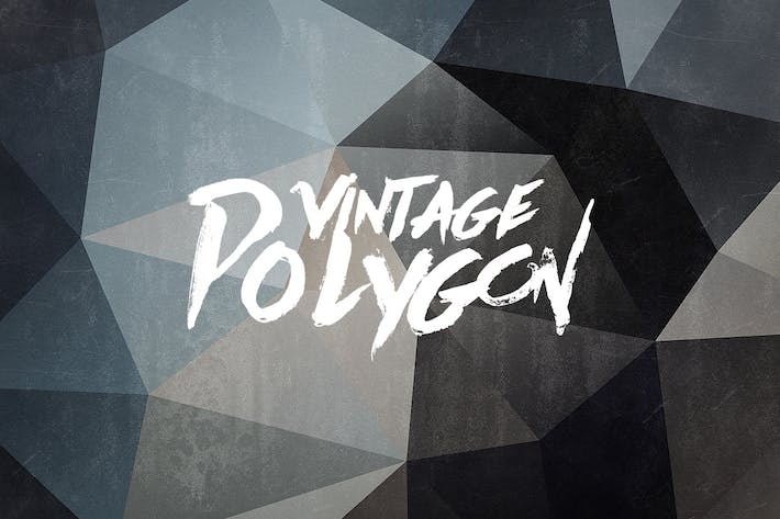 Thumbnail for Vintage Polygon-Hintergründe
