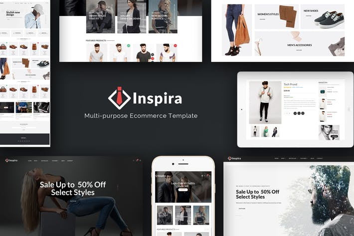 Thumbnail for Inspira - Multipurpose Responsive Prestashop Theme