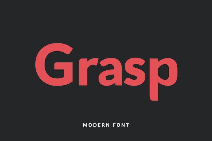 Thumbnail for Grasp Typeface