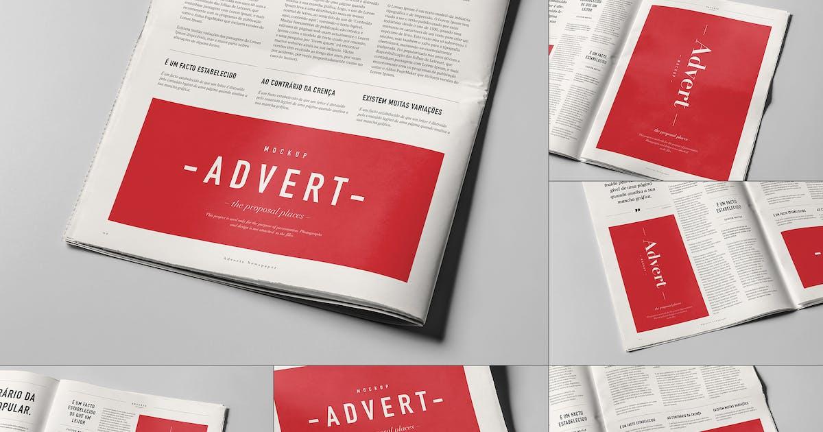 Download Newspaper Adverts Mock-up by yogurt86
