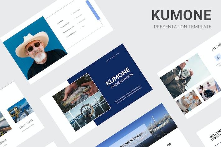 Thumbnail for Kumone - Fishing Club Google Slides