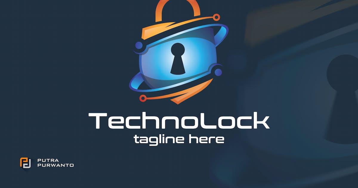 Download Techno Lock - Logo Template by putra_purwanto