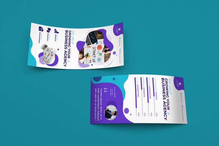 Thumbnail for Corporate, Business DL Rackcard PSD Template