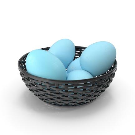 Bowl Of Blue Eggs