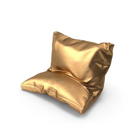 Leaning Pillow Golden