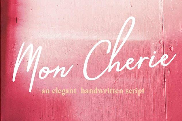 Mon Cherie Script Font