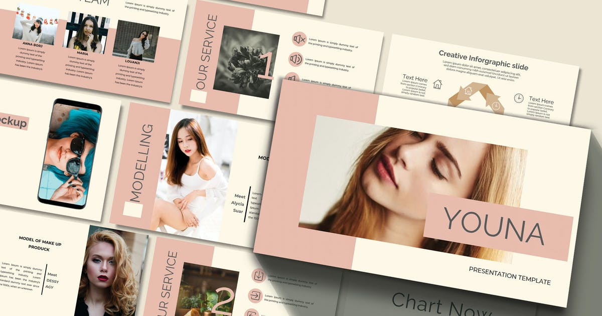 Download YOUNA - Powerpoint Template by joelmaker