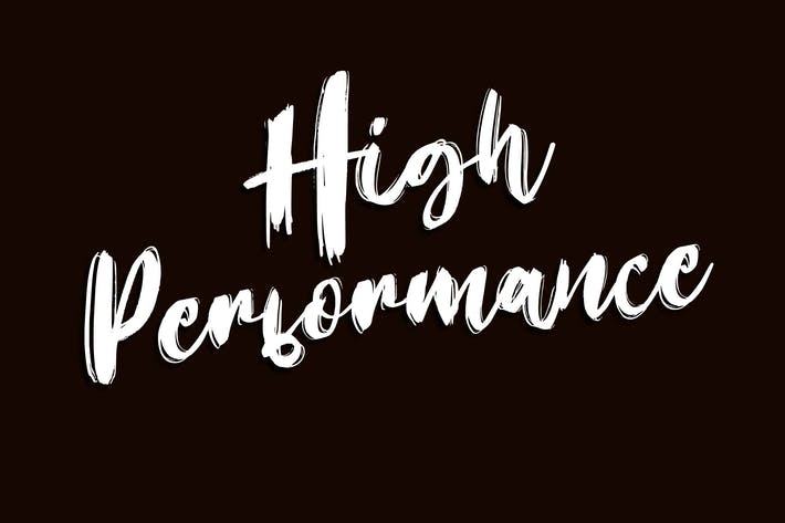 Thumbnail for High Performance