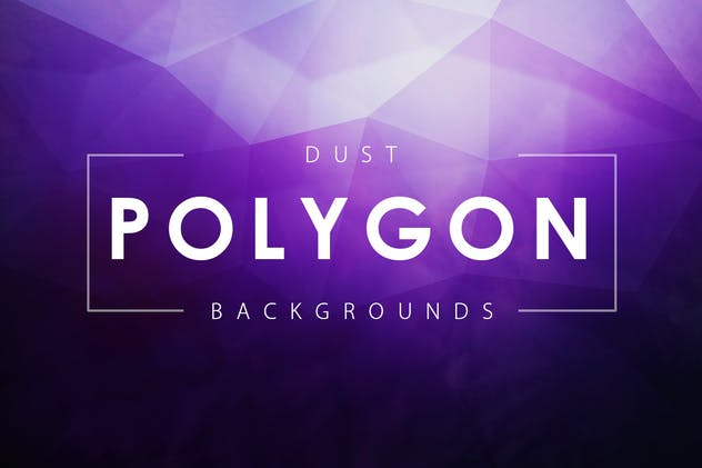 Dust Polygon Backgrounds - product preview 10