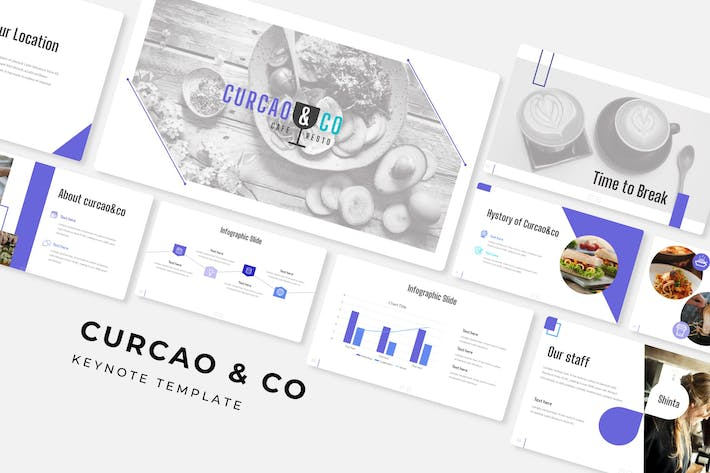 Thumbnail for Curcao & Co - Keynote Template