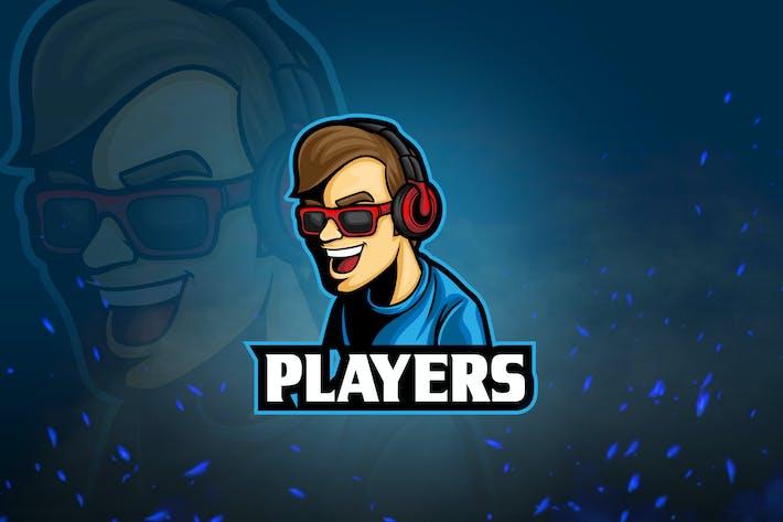 Thumbnail for Avatar Games & Esport Logo V2 - Cool Guy